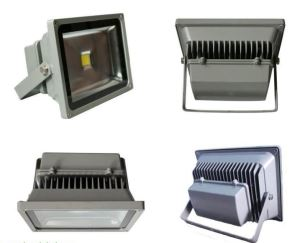 Outside RGB Colored LED Flood Light Fixture