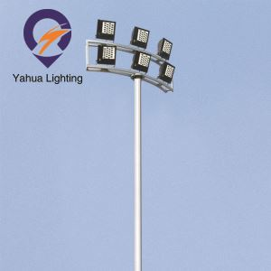 12m 15m Outdoor Sport Field High Mast Pole Light