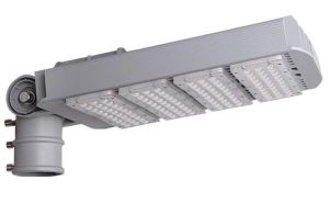 Adjustable beam angle modular outdoor led street lights