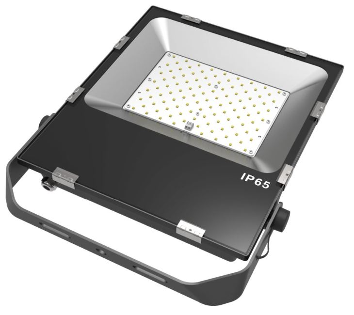 30W 50W 100W new design LED Flood Light 3000K-6500K Philips LED chip Meanwell driver
