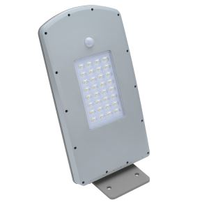 Good price 12V DC street light solar LED 10W 12W with movement sensor for garden park village road