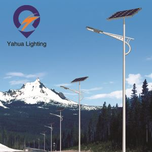30W solar power street light for village road lighting