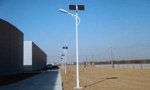12V 40W LED Solar street light 12 hours working time