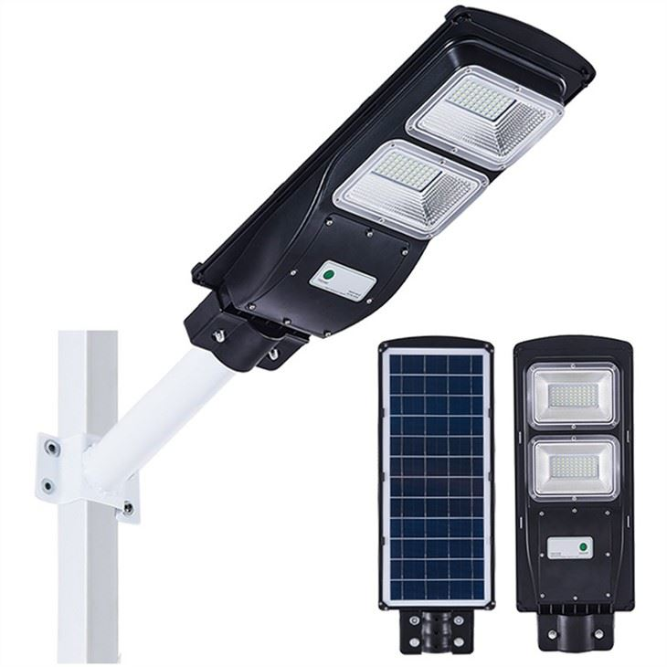 Outdoor 120lm All In One LED Solar Street Light With Motion Sensor
