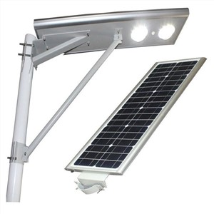 40W All In One Waterproof Ip65 Solar Led Street Light 6000K